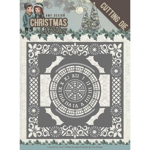 Amy Design ADD10148 - Mal - Amy Design - Christmas Wishes - Twelve O'clock frame