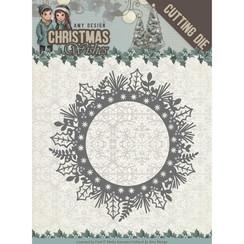 ADD10149 - Mal - Amy Design - Christmas Wishes - Holly Wreath