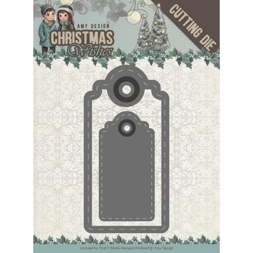 Amy Design ADD10153 - Mal - Amy Design - Christmas Wishes - Wishing Labels