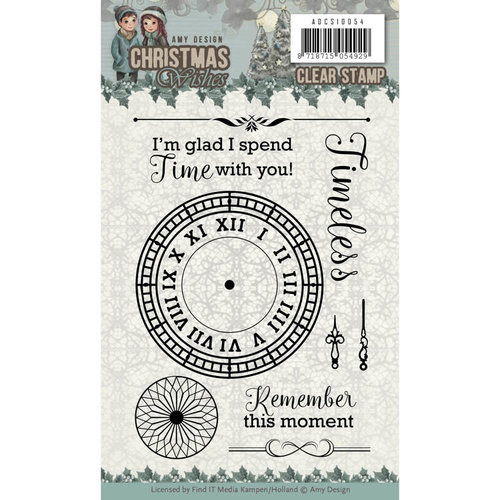 Amy Design ADCS10054 - Stempel - Amy Design - Christmas Wishes