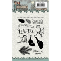 ADCS10055 - Stempel - Amy Design - Christmas Wishes