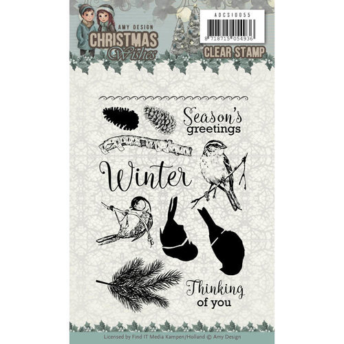 Amy Design ADCS10055 - Stempel - Amy Design - Christmas Wishes