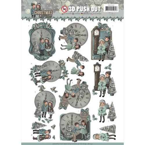 Amy Design SB10292 - 3D Uitdrukvel - Amy Design - Christmas Wishes - 12 O'Clock