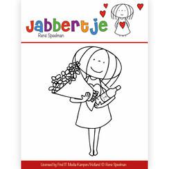 JBCS10001 - Stempel - René Speelman - Jabbertje - Bouquet