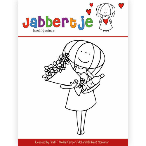 Collecties JBCS10001 - Stempel - René Speelman - Jabbertje - Bouquet