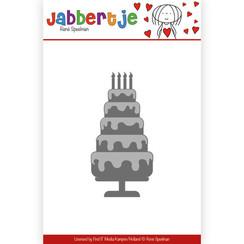 JBD10002 - Mal - René Speelman - Jabbertje - Tiered Cake