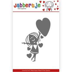 JBD10003 - Mal - René Speelman - Jabbertje - With hearts