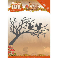 YCD10148 - Mal - Yvonne Creations - Fabulous Fall - Squirrels