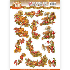 SB10287 - Uitdrukvel - Yvonne Creations - Fabulous Fall - Fall Bouquets