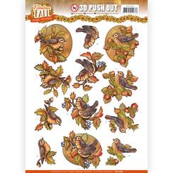 SB10289 - Uitdrukvel - Yvonne Creations - Fabulous Fall - Fall Birds