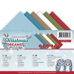 YC-4K-10015 - Linnenpakket - 4K - Yvonne Creations - Christmas Dreams
