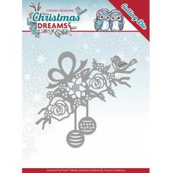 YCD10146 - Mal - Yvonne Creations - Christmas Dreams - Bauble Ornament