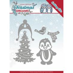 YCD10144 - Mal - Yvonne Creations - Christmas Dreams - Christmas Penguin