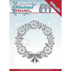 YCD10143 - Mal - Yvonne Creations - Christmas Dreams - Poinsettia Wreath