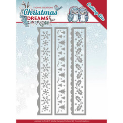 YCD10141 - Mal - Yvonne Creations - Christmas Dreams - Christmas Borders
