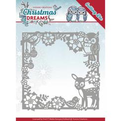 YCD10140 - Mal - Yvonne Creations - Christmas Dreams - Christmas Animal Frame