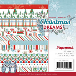 YCPP10019 - Papierpak - Yvonne Creations - Christmas Dreams