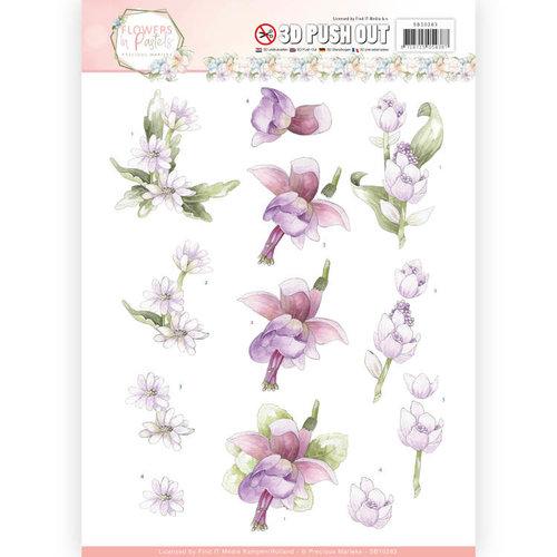 Precious Marieke SB10283 - Uitdrukvel - Precious Marieke - Flowers in Pastels - Lilac Mist