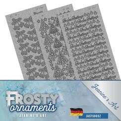 JASTS003Z - Stickerset - Jeanines Art- Frosty Ornaments - DUI