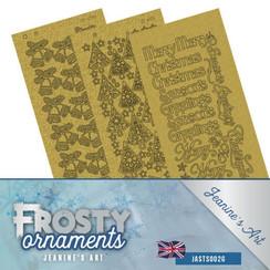 JASTS002G - Stickerset - Jeanines Art- Frosty Ornaments - ENG