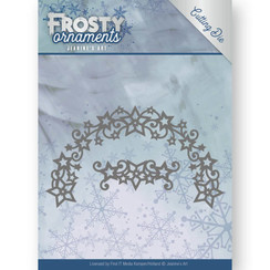 JAD10048 - Mal - Jeanines Art- Frosty Ornaments - Frosty Wreath
