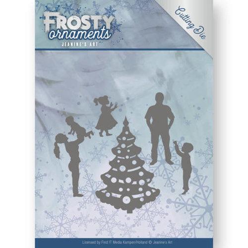 Jeanines Art JAD10047 - Mal - Jeanines Art- Frosty Ornaments - Happy Family