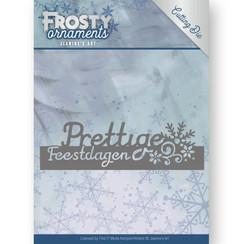 JAD10044 - Mal - Jeanines Art- Frosty Ornaments - Text Prettige Feestdagen