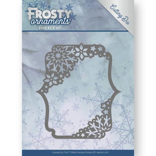 Jeanines Art JAD10042 - Mal - Jeanines Art- Frosty Ornaments - Rectangle Ornament