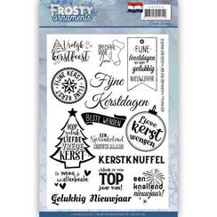 JACS10018 - Textstempel - Jeanines Art- Frosty Ornaments - NL