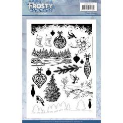 JACS10017 - Stempel - Jeanines Art- Frosty Ornaments