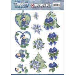 SB10279 - Uitdrukvel - Jeanines Art- Frosty Ornaments - Green Ornaments