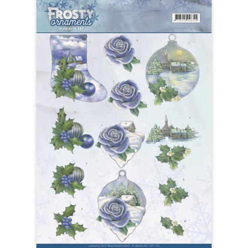 Jeanines Art CD11128 - 10 stuks knipvellen - Jeanines Art- Frosty Ornaments - Snowy Landscapes