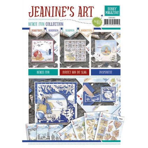 Jeanines Art CDM1803 - Hobby Magazine nr. 3