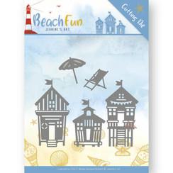 JAD10040 - Mal - Jeanines Art- Beach Fun - Beach Houses