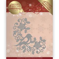 PM10130 - Mal - Precious Marieke - Merry and Bright Christmas - Bird Corner