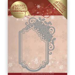 PM10127 - Mal - Precious Marieke - Merry and Bright Christmas - Poinsettia Ornament