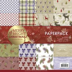 PMPP10020 - Papierpak - Precious Marieke - Merry and Bright Christmas