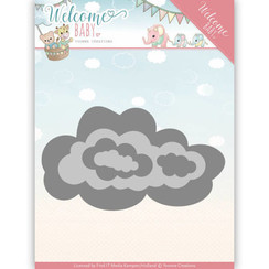 YCD10137 - Mal - Yvonne Creations - Welcome Baby - Nesting Clouds
