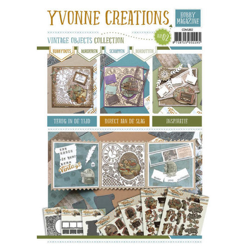 Yvonne Creations CDM1802 - Hobby Magazine nr. 2