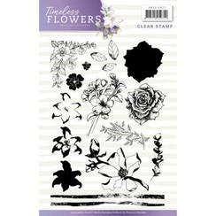 PMCS10027 - Stempel - Precious Marieke - Timeless Flowers