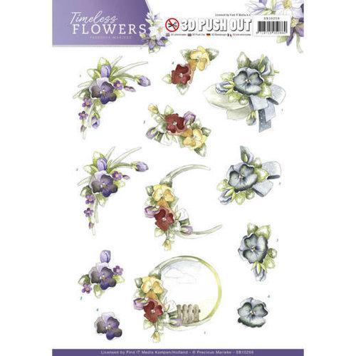 Precious Marieke SB10259 - Push Out - Precious Marieke - Timeless Flowers - Violets