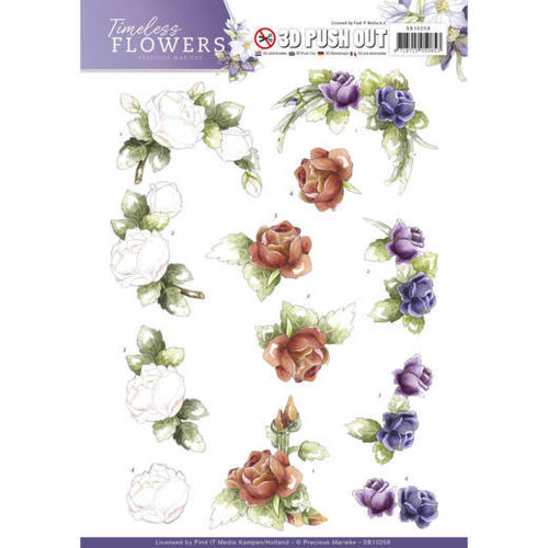Precious Marieke SB10258 - Push Out - Precious Marieke - Timeless Flowers - Roses