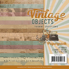 YCPP10017 - Papierpak - Yvonne Creations - Vintage Objects