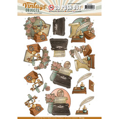 SB10255 - Uitdrukvel - Yvonne Creations - Vintage Objects - Vintage Communication