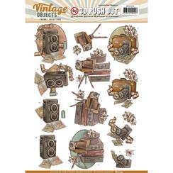 SB10254 - Uitdrukvel - Yvonne Creations - Vintage Objects - Vintage Cameras