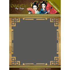 ADD10146 - Mal - Amy Design Oriental - Frame Layered Dies