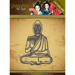 ADD10141 - Mal - Amy Design Oriental - Meditating Buddhist