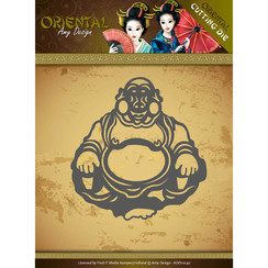 ADD10140 - Mal - Amy Design Oriental - Happy Buddha
