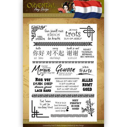 Amy Design ADCS10041 - Stempel - Amy Design Oriental - NL