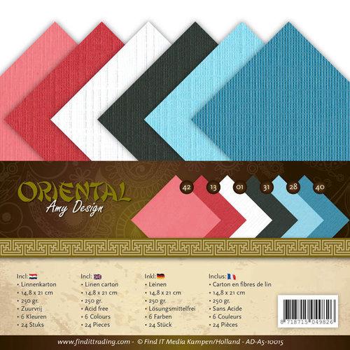 Amy Design AD-A5-10015 - Linnenpakket - A5 - Amy Design Oriental